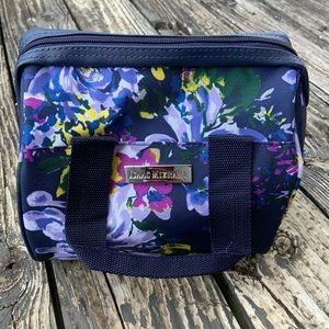 Isaac Mizrahi Lunch Bag Blue Floral